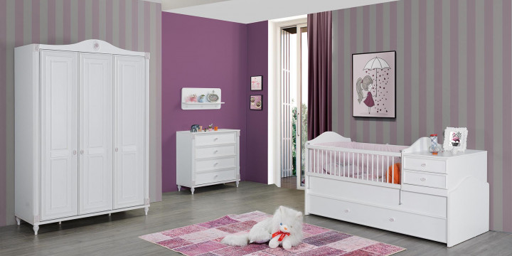 Gold Baby Room