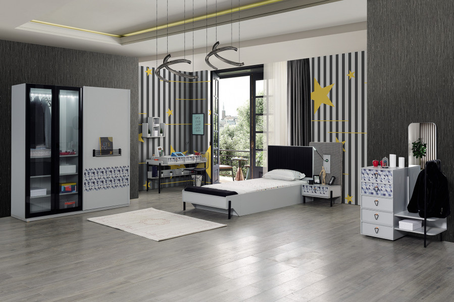 Dynamic Young Room